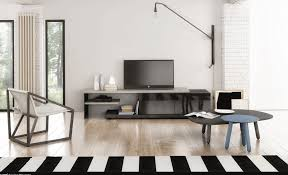 Modern Tv Stands Modern Tv Stand Inverse By Huppe Tv Stands