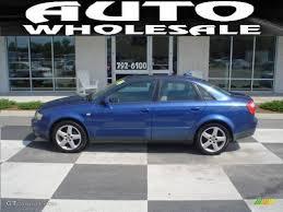 2004 audi a4 1 8 t quattro for sale 2004 blue pearl effect audi a4 1 8t quattro sedan 12962335