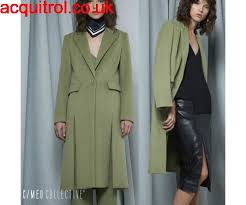 cameo clothing cameo easy coat and khaki women cameo the label x chester