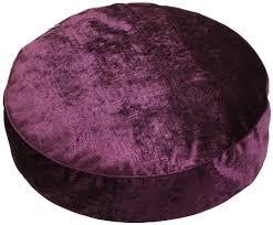 cuscini rotondi sauermilch cuscino rotondo da pavimento viola lila 60 x 15 cm