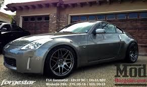 custom nissan 370z for sale forgestar f14 wheels for nissan 19in 350z 370z gt r 240sx 300zx