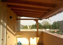 tettoia in legno per terrazzo tettoie in legno addossate su terrazzi nonantola mo