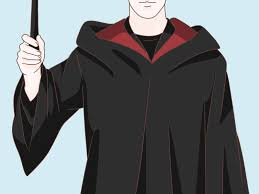 costume wizard robe how to dress as an evil wizard for halloween 9 steps