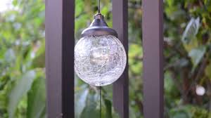 Ball Solar Lights - a beautiful wind chime and led ball solar light in one by spv