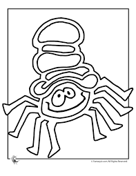 spider coloring pictures coloring home