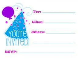 25 unique free printable birthday invitations ideas on pinterest