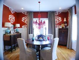 Dark Red Dining Room by 32 Best Red White Black Images On Pinterest Black And White