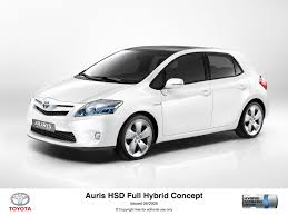 toyota full site toyota unveils auris hsd full hybrid concept toyota uk media site