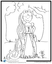 8 images rapunzel crown coloring pages disney