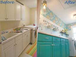fabulous colorful laundry room makeover hometalk