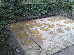 Laying Patio Slabs On Grass Having Trouble Building A Shed Base Overclockers Uk Forums