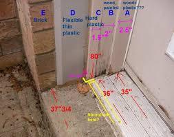 How To Install An Exterior Door Frame Homeofficedecoration Exterior Door Jamb Extensions