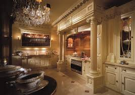 Luxury Traditional Kitchens - luxury traditional kitchen in white with extravagant look