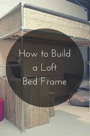 best 25 high bed frame ideas only on pinterest industrial bed