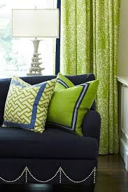 Blue And Lime Green Curtains Navy And Green Curtains Ideas Mellanie Design