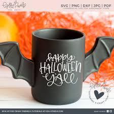halloween svg happy halloween yall southern svg design