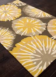 yellow rug brings elegance to your room best decor things