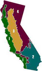 california map regions gold ridge