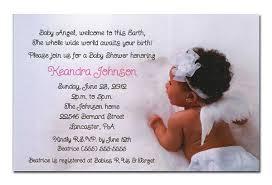 Angel Decorations For Baby Shower Black Baby Shower Invitations Blueklip Com