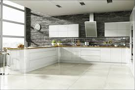Kitchen  Stone Backsplash Tile White Stacked Stone Backsplash - Layered stone backsplash