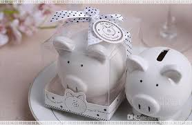 piggy bank favors 2018 christening baptism gifts ceramic mini piggy bank coin box