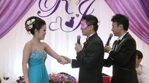 funniest wedding vows ever toronto bilingual chinese mc funniest wedding game 多伦多粤国