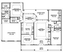 3 Bedroom Floor Plans With Garage One Story Open Floor Plans One Story 3 Bedroom 2 Bath French