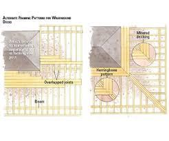 wrap around deck plans wrap around deck pattern decking patterns things to do