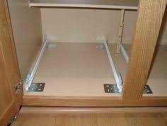 Pull Out Kitchen Shelves by How To Mount Drawer In Cabinet W O Side Kitchensource Pinterest