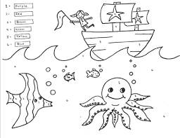 color number pages printable free coloring book addition and