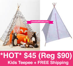 target black friday live 45 reg 90 kids teepee play tent free shipping live now