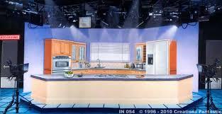 kitchen backdrop in 054 tv kitchen studio