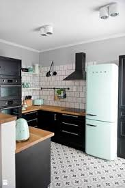 cuisine blanche sol noir meuble cuisine blanc laqué ikea pinteres