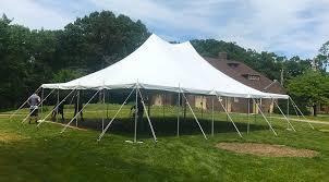 backyard tent rentals small backyard wedding tent in iowa 30 u0027 x 40 u0027 and pole tent