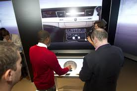 audi digital showroom audi opens first digital showroom autocar