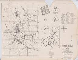 Highway Map General Highway Map Dimmit County Zavala County Texas The