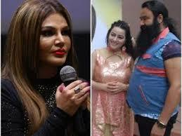 Rakhi Sawant Ki Nangi Photo - sawant to play gurmeet ram rahim singh s missing daughter