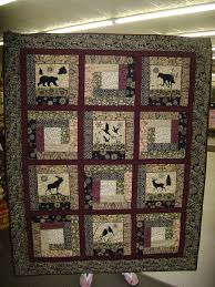 theme quilts northwoods theme quilt wall hanging by elly s by eleanorholland