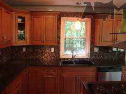 tile backsplash for kitchen river pebble tile kitchen backsplash a diy project anyone can do