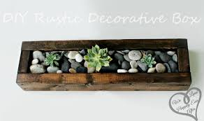 Wood Centerpieces 25 Best Rustic Wooden Box Centerpiece Ideas And Designs For 2017
