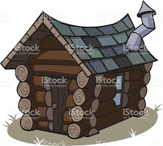 Tiny House Cartoon Cartoon Log Cabin Stock Vector Art 153272726 Istock