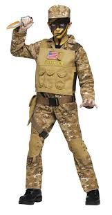 Kids Military Halloween Costumes Boys Navy Seal Soldier Kids Costume Costumes