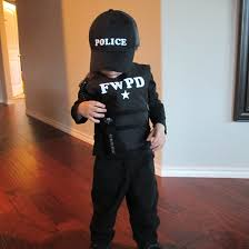 police halloween costume kids police costume operation home