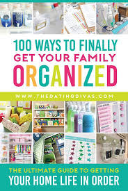 best ideas about organizing tips pinterest organization tips finally get your family order