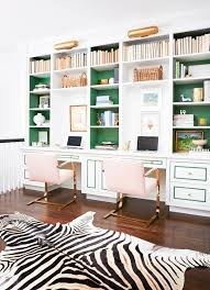 Gold Bookshelves by Stop What You U0027re Doing And Look At This Office Gold Office