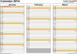 calendar templates 2014 calendars as free printable excel