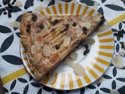 cuisiner la poir tarte poire chocolat amande vegan les délices de mimi