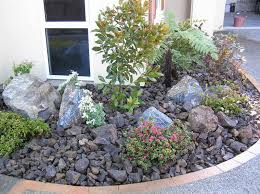 landscaping ideas gallery only then brown rock mulch garden lg