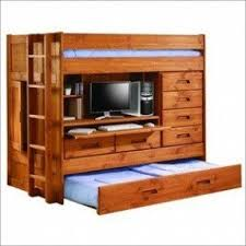 Bunk Bed With Storage And Desk Loft Bed With Desk And Trundle Foter