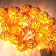 rattan ball fairy lights decorative indoor string lights decorative string lights indoor